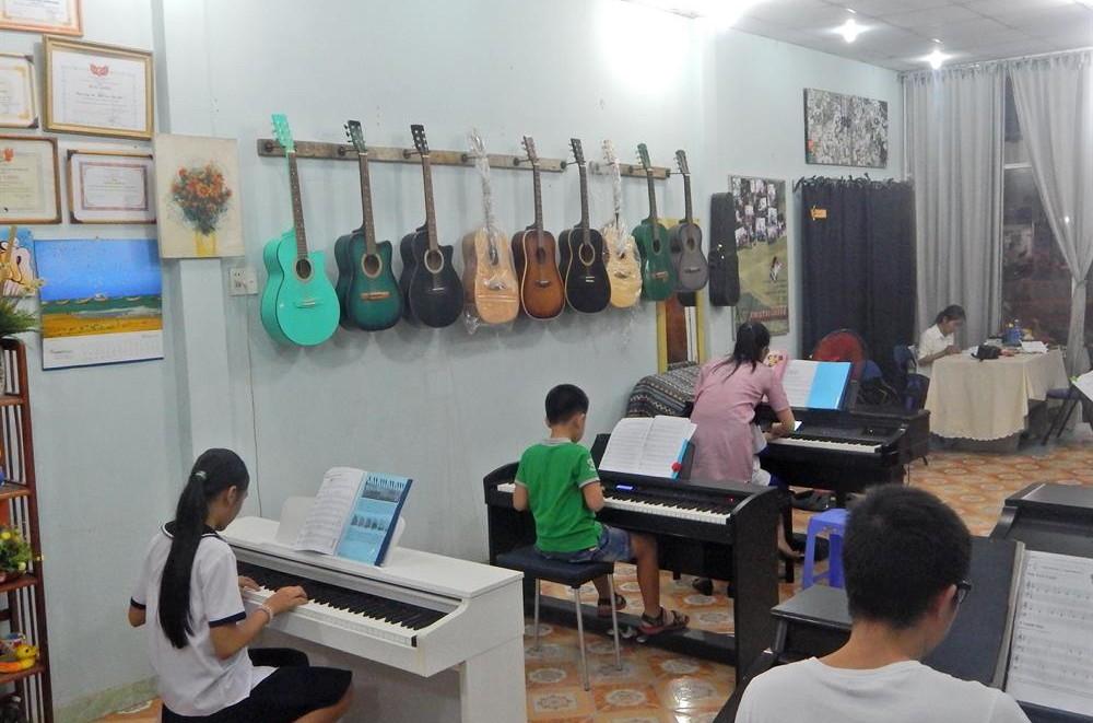 Lớp học piano 4 tuổi trở lên